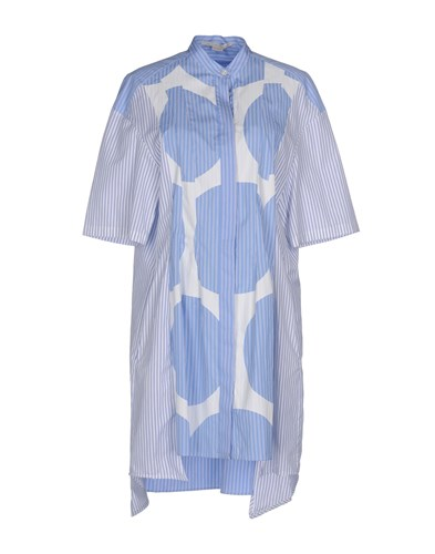 Stella Short McCartney Short Stella Dresses Azure Azure McCartney Dresses UnwaEx4qW