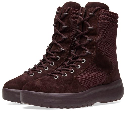 Yeezy Season 6 Military Boot Burgundy P6wLVtVN