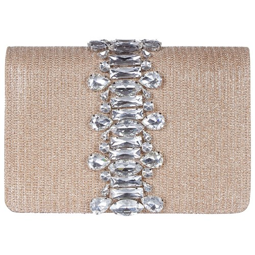 Clutch Nude Adrianna Papell Structured Papell Adrianna nFwxIw