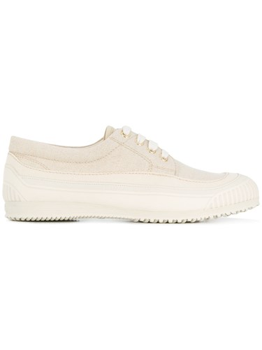 Hogan Textured Panel Sneakers Nude And Neutrals io7i8