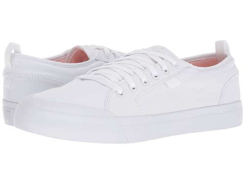 Evan DC White Skate Tx Smith Shoes Pink RFFwqUx