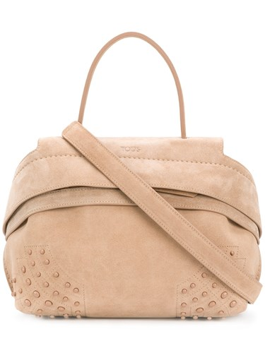 Tod's Wave Tote Small And Nude Neutrals qAqRPOrx
