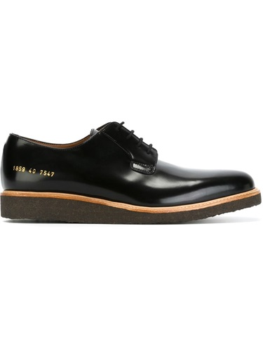 Derby Black Common Projects Shoes Projects Common aWwtwq7U
