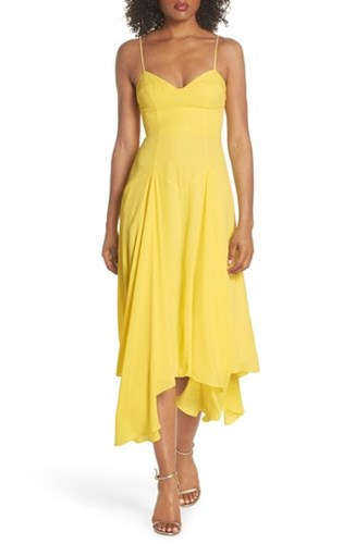 Handkerchief Fame Lemon Hem amp; Partners Dean Dress TtfwCRqO