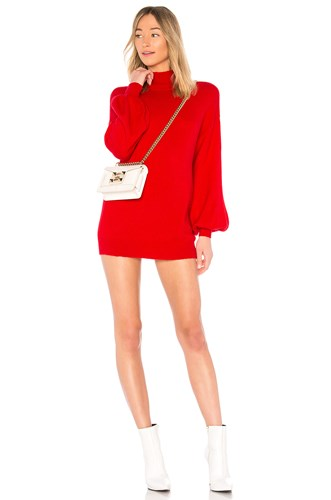 Lovers Blaine Sweater Friends Red Dress WaPW07vz