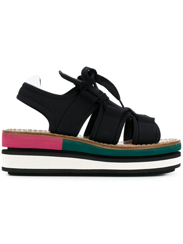 Marni Sandals Marni Wedge Black Platform Wedge Id1Rpqw