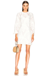 Lace MSGM MSGM In In White Dress MSGM Dress Lace Lace White ZUwZI