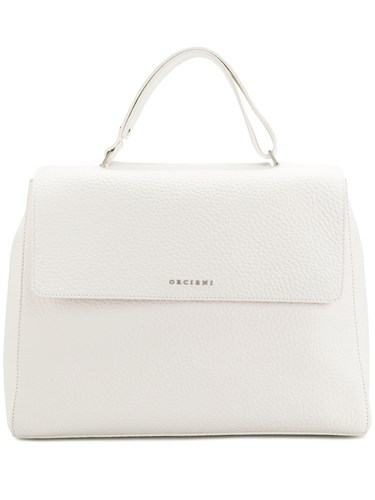 Orciani Large Tote Bag White wFTdf3