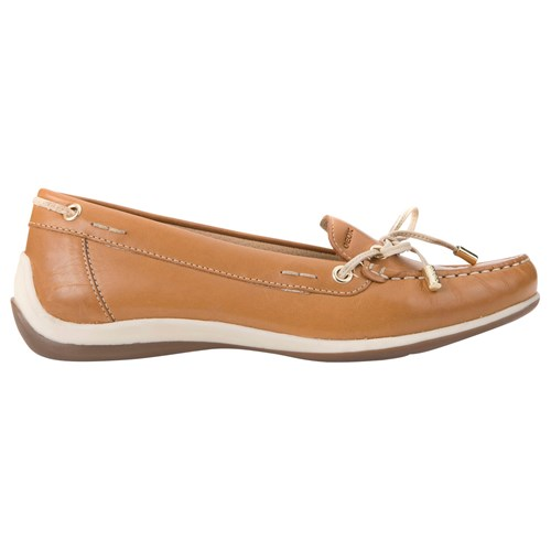 Geox Yuki Flat Loafers Biscuit Brown 1Fdf0T