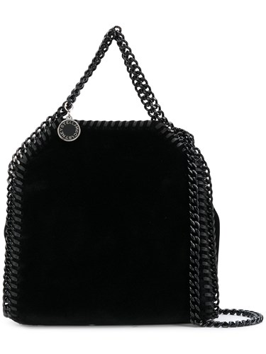 Falabella McCartney Tiny Stella Black Tote SHf5aw