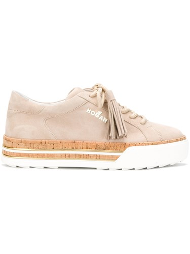 Hogan Nude Shoes And Up Lace Neutrals Platform rBqraH