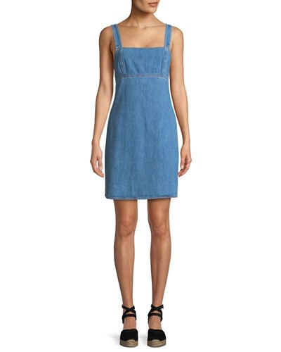 Dress Bone Denim Blue Tank Paula and Rag zvwnqxX85