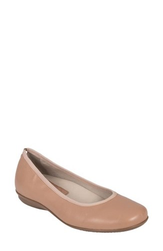EarthiesR 'S Earthies Ennis Flat Nude Leather ekTQGJns