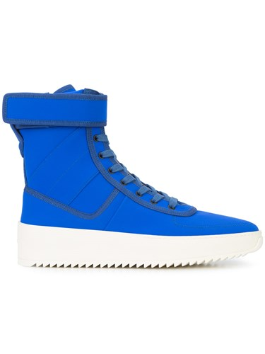Classic Hi God Rubber Polyamide Top Fear Leather Sneakers Of Blue qEvnwanxWp