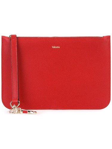 Valextra Zipped Zipped Clutch Zipped Valextra Clutch Zipped Clutch Red Valextra Red Zipped Valextra Red Clutch Red Valextra wq0BYfn