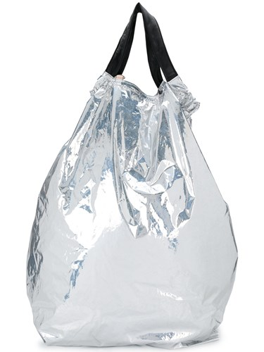 Metallic Top Contrast Martin Backpack Margiela Drawstring Maison xTwYZnw