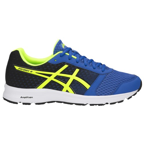 Asics Patriot 9 Men's Running Shoes Victoria Blue Yellow Black 8EXSwatV