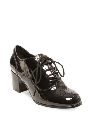 Oxfords Design amp; Round Suzia Silver Up Lord Taylor Lab Lace Toe qqUzrER