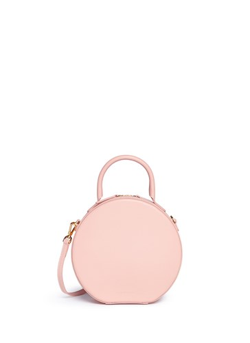Leather Crossbody Bag 'Circle' Gavriel Pink Calfskin Mansur q0H6OW4n