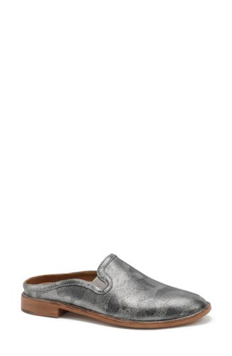 Pewter Suede Camo Metallic Trask 'S Ashley Mule 7tnwf0U