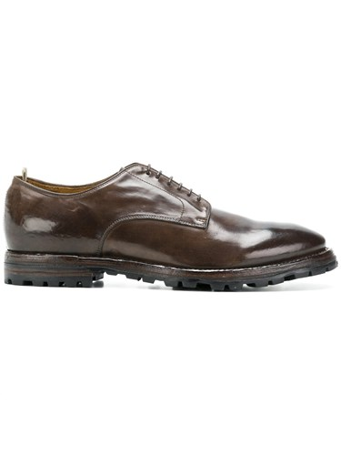 Officine Creative Shoes Aspen Derby Brown FOYqFdwrx
