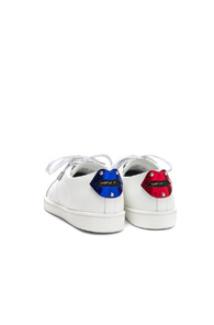 Metallic In Patch White Court Laurent Sneakers Saint Classic 5YTzz8
