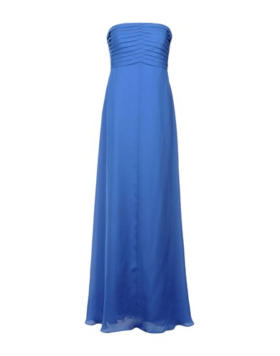 Dresses Long Collezioni Armani Collezioni Armani Long Blue 7wIOXA7qRZ