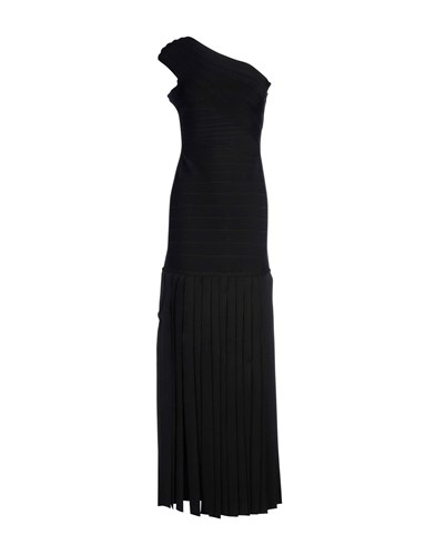Herve Leger By Max Azria Long Dresses Black lZn5y5gj