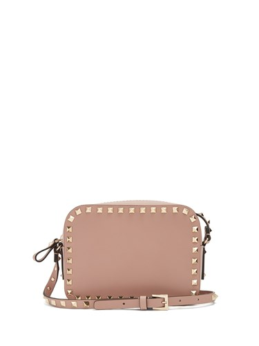 Nude Rockstud Bag Leather Cross Body Valentino Camera pZ0q0a