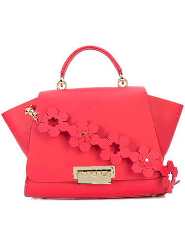 Zac Eartha Shoulder Floral Posen Red Iconic Bag HHgqAUxrw