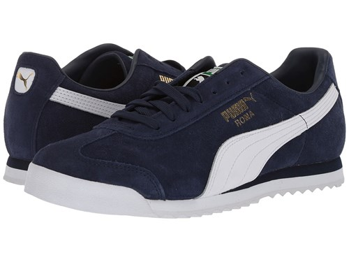 White Suede Gold Amazon Team Roma Navy Casual Up Peacoat Shoes Green Puma Lace F6wRqBHnxR