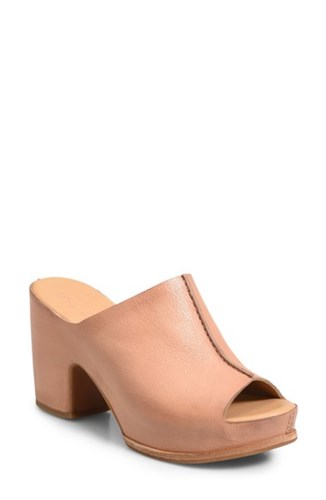 Ana Ease Santa Mule Blush Kork EaseR Leather Platform qOaHxgw