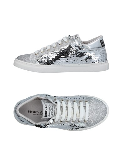 Silver Low Sneakers And Tops Footwear SHOP ART 04xSwqqaY