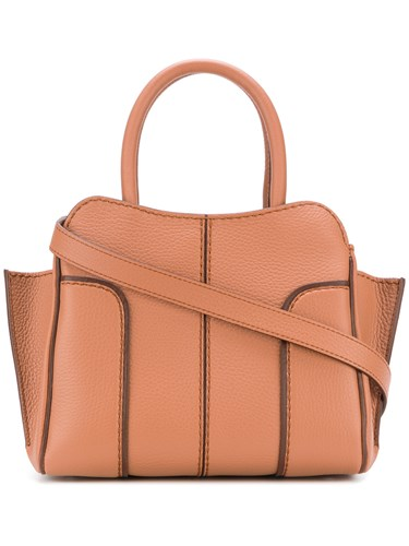 Tote Tod's Bag Panelled Tod's Bag Tote Brown Tod's Panelled Brown 0HST5gWp