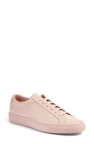Common Projects Women's Original Achilles Sneaker Blush Leather yfSoKRQTTp