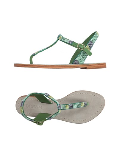 Green Toe Strap Green Toe Sandals Dream Strap Dream Sandals a6Oq5x