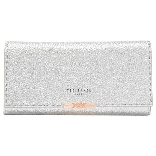Ted Baker Janet Chain Leather Matinee Purse Silver WyVgXYVMRP