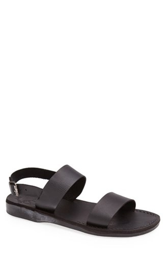 Men's Leather Sandals Jerusalem Sandal 'Golan' Xqzaw