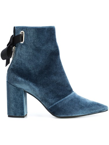 Blue X Karlit Boots Leather Ankle Clergerie Velvet Robert 39 Portrait 5 Self Pq4xCpqw7