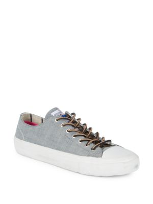 Blue Smith Low Top Paul Sneakers Denim Enim qBZXnfxnw