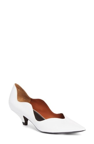 Wave Toe White Pump Schouler Proenza 'S Pointy E01q1H