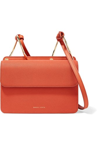 Bag Shoulder Smooth And Brick Lente Mia Gbp Danse Textured Leather Yq0SZE4