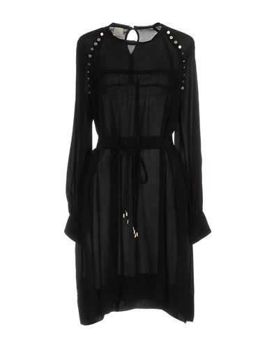 Pinko Short Dresses Black sXIaP