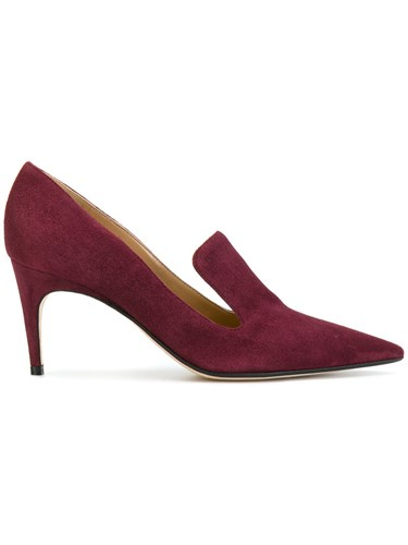 Toe 5 37 Red Pointed Sergio Pumps Rossi Leather Zxw6qEOg7n