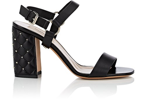 Valentino Garavani Free Rockstud Spike Leather Sandals Black jgzwAqcF