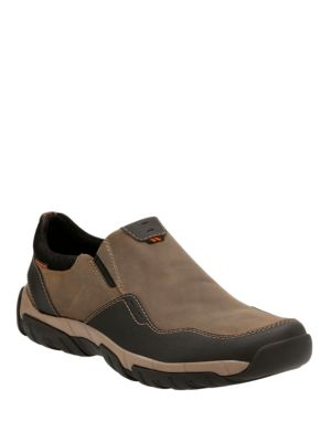 Style Slip Walbeck Sneakers Olive On Clarks Oq85HZ
