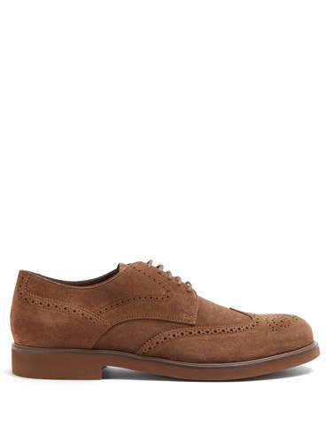 Shoes Tod's Oxford Shoes Oxford Suede Oxford Suede Brown Brown Shoes Suede Brown Tod's Tod's Tod's Suede dFqtfIwA