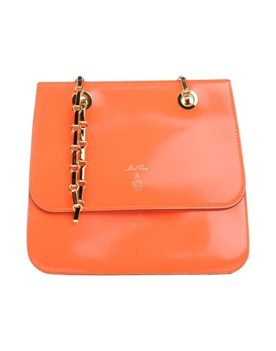 Orange Handbags Cross Mark Mark Cross P4W0IqwHw