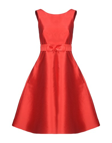 R A H Red P Length Knee S O Dresses WTOwdc6wq