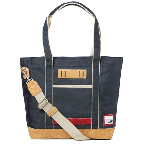 Over V6 Two Way Tote Navy